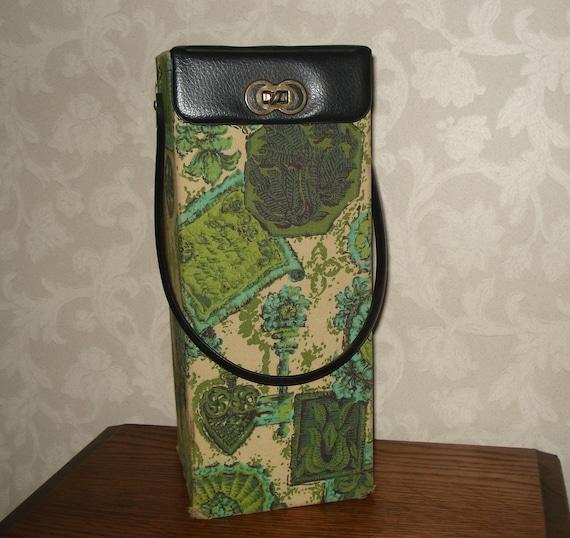Vintage knitting storage box