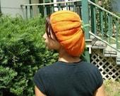 Precious Pumpkin Beret Knitting Pattern