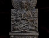 Black Sitting Buddha