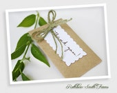 100 Personalized Eco Wedding Flower Seed Favors, Customized Handmade Packet Perfect for Weddings, Bridal Showers, Garden Party