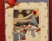 Merriest Seasons Greetings Card