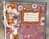 Celebration of Life Birthday Card