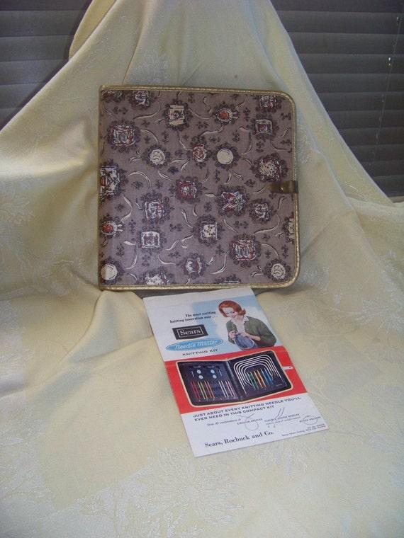 vintage searsboye needlemaster knitting kit