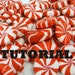 TUTORIAL PEPPERMINT POLYMER CLAY and Video