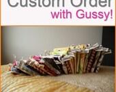 Custom Order for Meg-- Knitting Bag