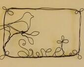 Sweet Bird Wire Wall Art