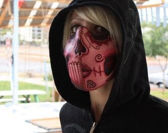 Pink Calavera Mask