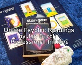Your Year Ahead StarGate Reading, 10 Cards with PDF report and affirmation