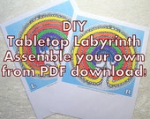 DIY Tabletop Labyrinths: assemble your own from PDF downloads