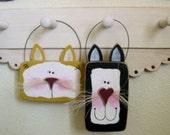Funky Cat wire hanger