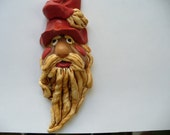 SANTA PENDANT with red hat