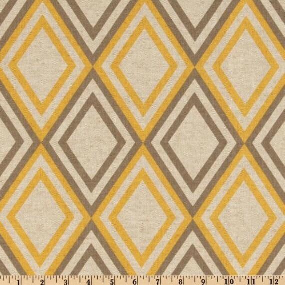 Premier Prints Annie Blend Yellow/Kelp