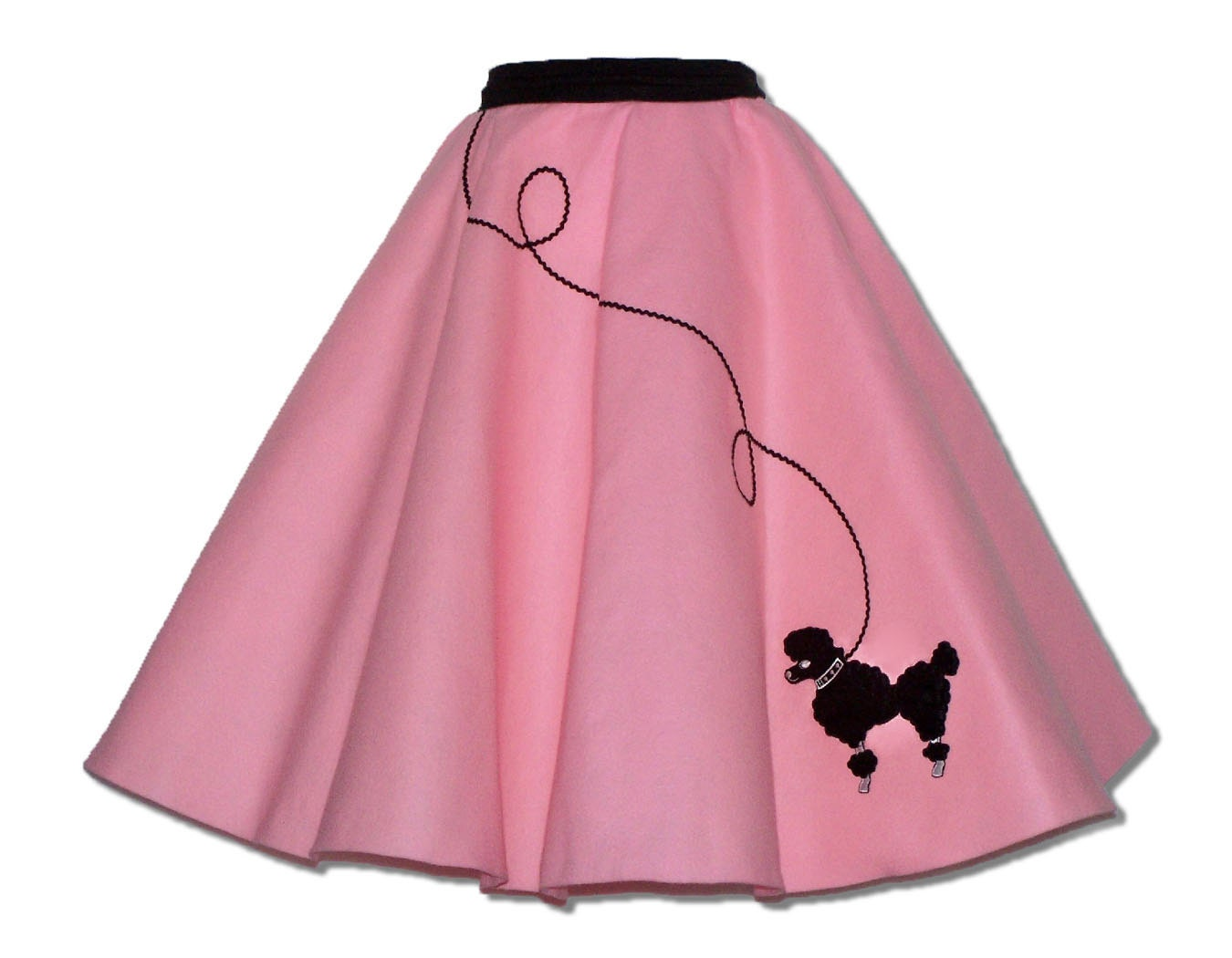 How to make a no sew poodle skirt for adults