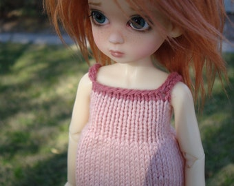 KW Tinies and Little Fee Size Pink Knit Top