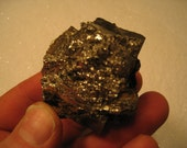 Single Lg Pyrite   Nugget  and 2 Psc Copper Ore  Mich