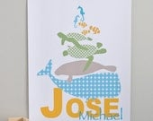 Sea Life Poster in Sea - FREE Personalization