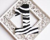 1st Birthday Iron on Zebra