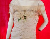 Antique Evening or Wedding Gown From Hamburgers of Los Angeles 1908 to 1923