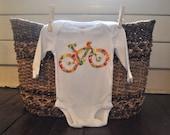 Biking Baby Onesie or Toddler Shirt