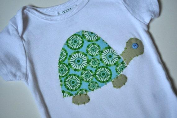 Slow as a Turtle Onesie or Tee