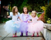 Sugar and Spice Tutu sewn not tied 12 1/2 inch length fits ages 1-3