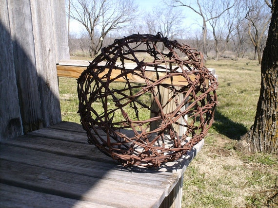 Barbed Wire Ball