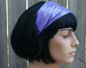Purple Shiny PVC Headband  hair band MTCoffinz - Ready to Ship Discontinued