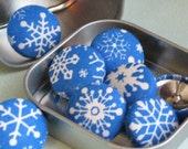 Snowflakes...Tack Pack of 8