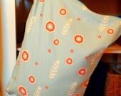 Woodut Floral ORGANIC 18 x 24 Hanging Diaper Pail--IN STOCK