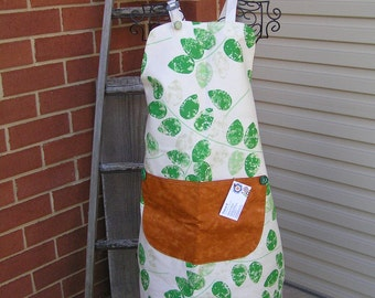 Apron  Vintage Green (431)