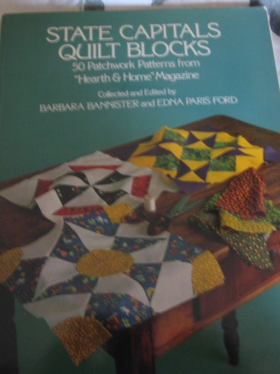 State Capitals Quilt Blocks 50 Patchwork Patterns