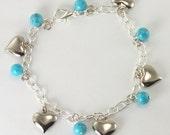 Angel's Bead Expressions - Bracelet - Charm Bracelet 'Love V'