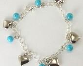 Angel's Bead Expressions - Bracelet - Charm Bracelet 'Love VI'