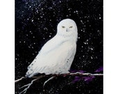 SNOWBIRD Original Painting by Rodriguez