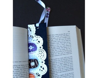 BOOKMARK * Hand Painted * CHOCOLATE CANDY * One Of A Kind * Art By Rodriguez