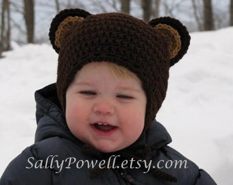 Bear Hat (Infant/Children)