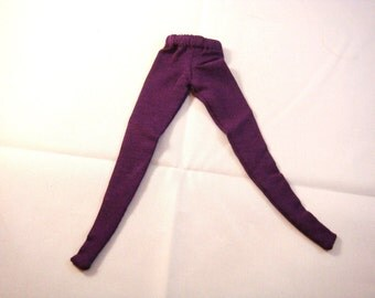 Blythe - Plain Dark Purple Tights - BLEG-011