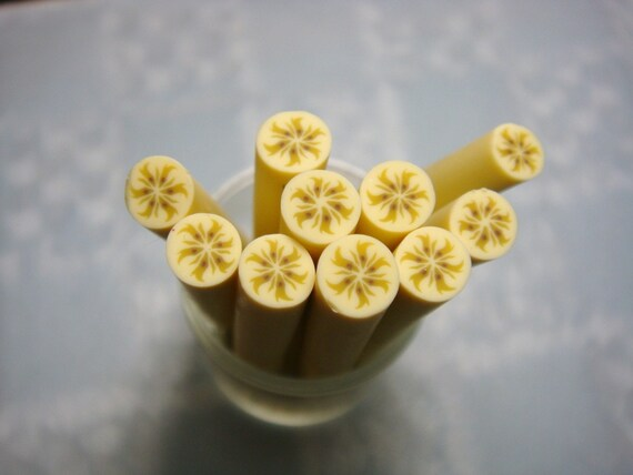 Dollhouse Miniature - Banana Fruit Cane - SUPPLIES