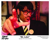 "Mr. Lobo ""Dungeon Master"" Autographed 8x10 Print"