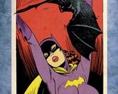 "Bat Woman ""Prude"" Version 8x10 Print"