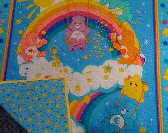 Reversible Care Bears Quilt