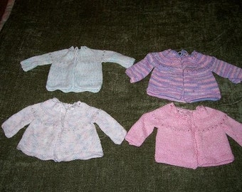Handmade Knitted baby Sweaters