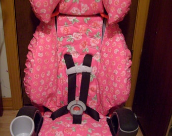 Komfy Kid custom BOOSTER SEAT COVER SET - choose your fabric from over 200 prints