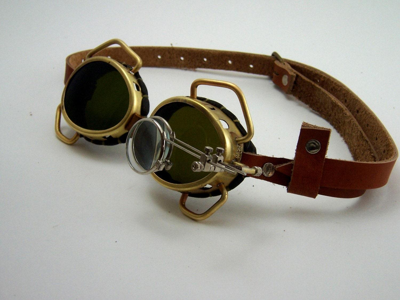 Steampunk Brass Goggles Steam Punk Victorian Cosplay Larp
