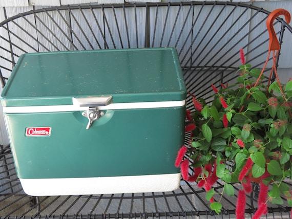 Vintage Coleman Cooler Green By Mshedgehog On Etsy