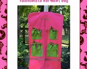 Fashionista Garment Bag--epattern, PDF