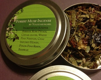 Forest Muse Resin Incense