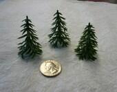 Vintage Plastic Pine Trees (6)