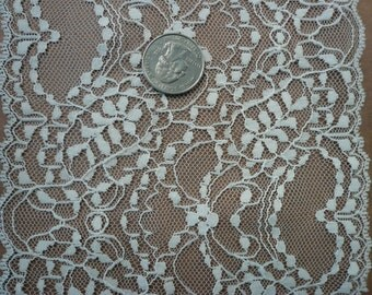 Beautiful Vintage Natural Lace (011) 1 yard