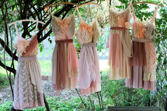 Ruth Hart's Custom Bridesmaids Dresses